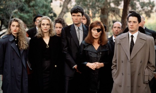 El elenco de Twin Peaks.