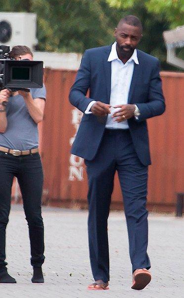 Imagen del rodaje nueva película Idris Elba