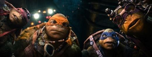 Las Tortugas Ninjas éxito de taquilla