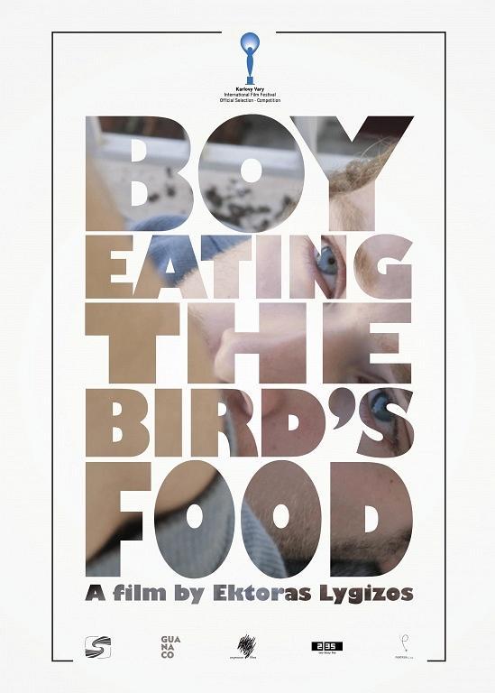 Póster de Boy eating the bird's food