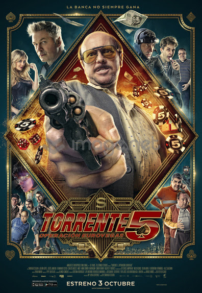 Póster oficial de Torrente 5