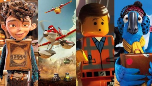 20 películas animadas nominadas