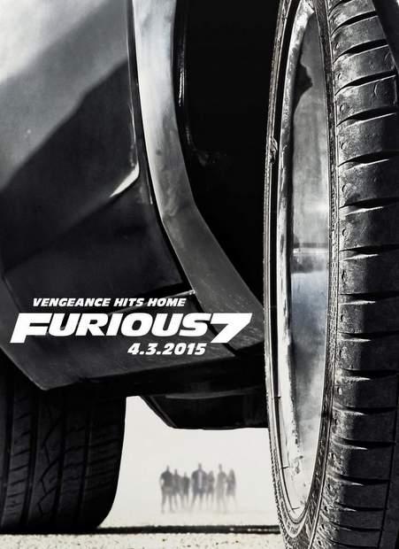 Póster de Fast & Furious 7
