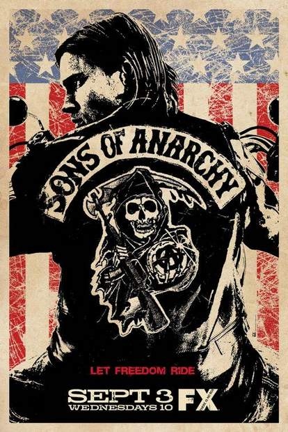 Póster de Sons of Anarchy