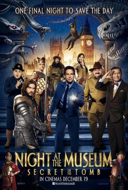 Póster de Noche en el museo 3