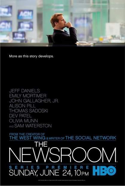 Póster de The Newsroom