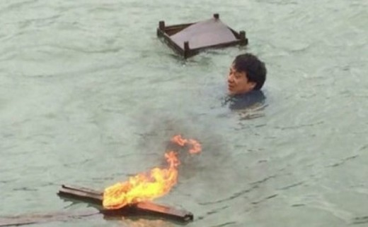 Muere cámara durante rodaje película Jackie Chan