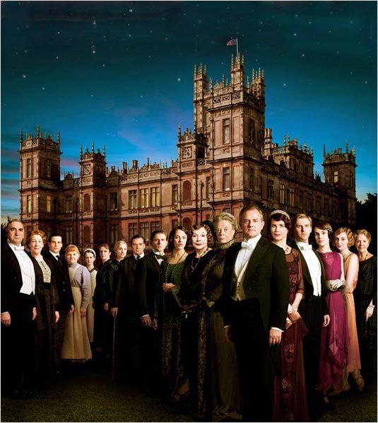 Cartel de la serie Downton Abbey