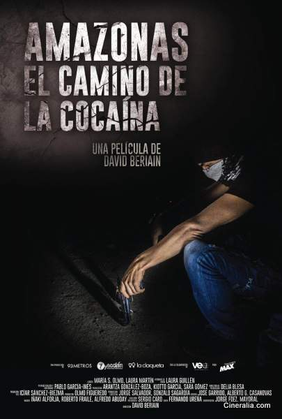 Póster de Amazonas, el camino de la cocaína