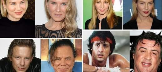 Especial actores y actrices antes y después