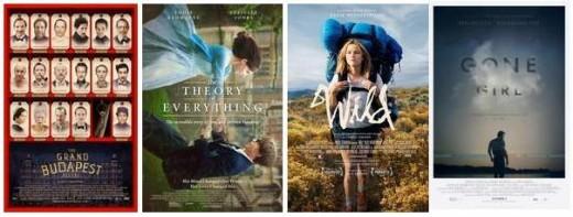 Películas nominadas al Oscar 2015 basadas en libros