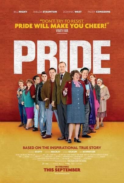 Póster de Pride (Orgullo).