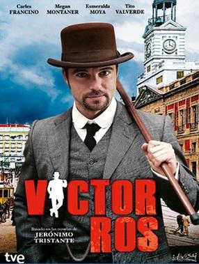 Póster de la serie Víctor Ros