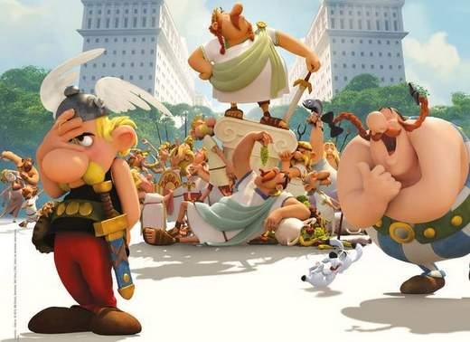 Crítica de Asterix: La residencia de los dioses