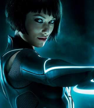 Olivia Wilde en Tron Legacy