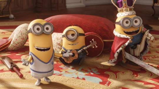 Los minions supera a Toy Story 3