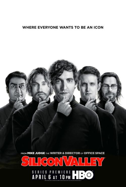 Póster de Silicon Valley