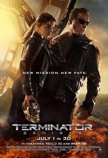 Póster de Terminator Génesis