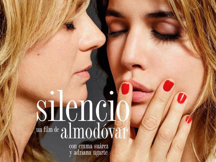 Cartel Silencio de Pedro Almodóvar