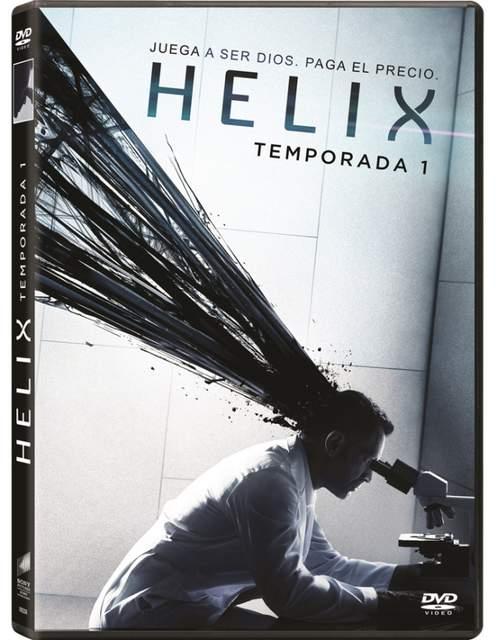 Carátula DVD de Helix