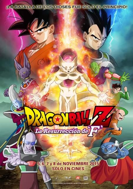 poster dbz_resurrection f_70x100