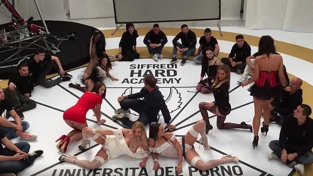 Universidad del porno Rocco Siffredi