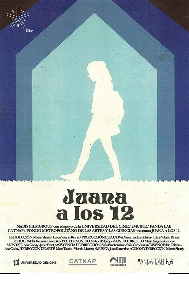 Póster de Juana a los 12