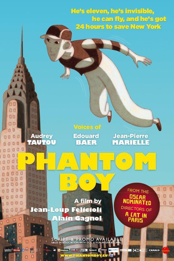 Póster de Phantom Boy