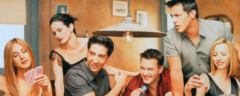 Reparto de la serie Friends