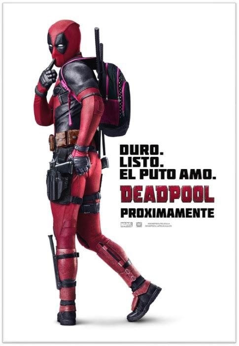 Póster de Deadpool