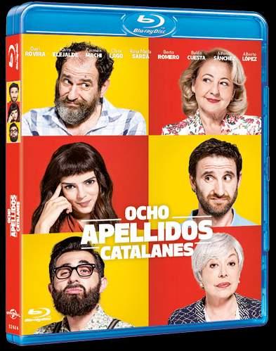 Carátula Ocho Apellidos Catalanes en DVD