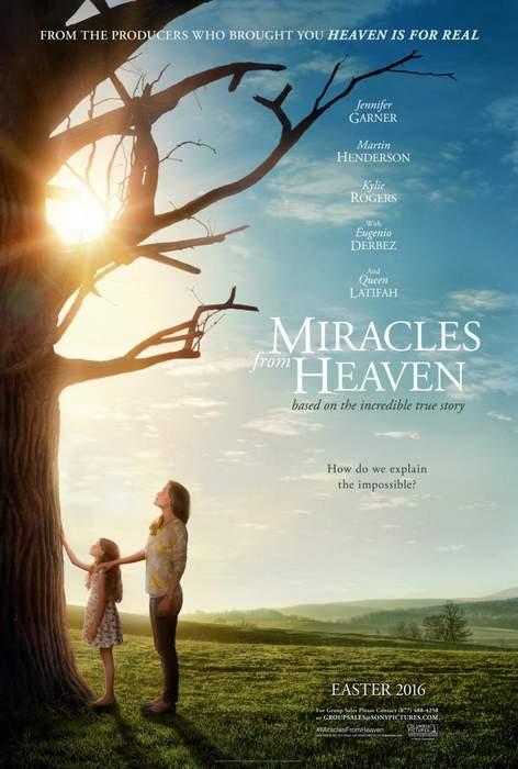 Póster de Los milagros del cielo