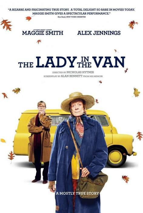 Póster de The Lady in the van