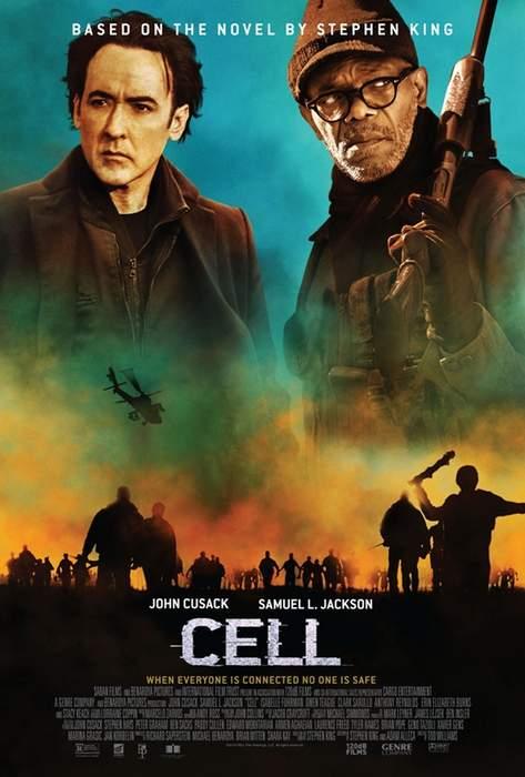 Póster de Cell y Tráiler de Cell