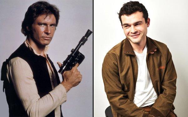Actor nuevo Han Solo