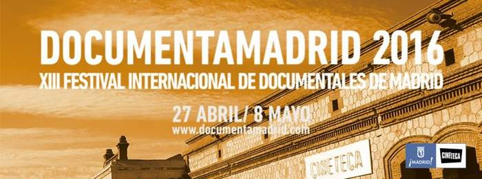 Cartel DocumentaMadrid 2016
