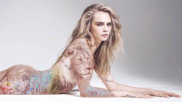Cara Delevingne desnuda, imagen cineralia