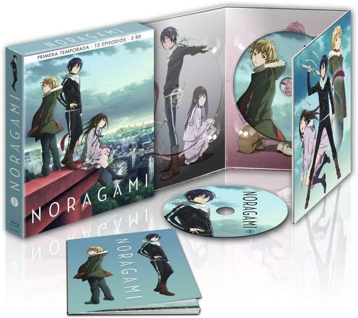 Serie Noragami en Blu-ray