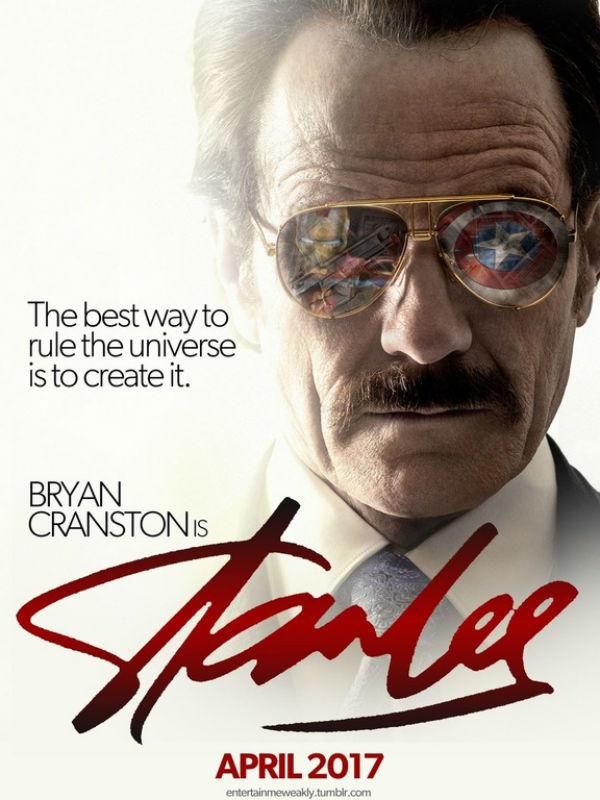 Fanmade póster sobre la vida de Stan Lee