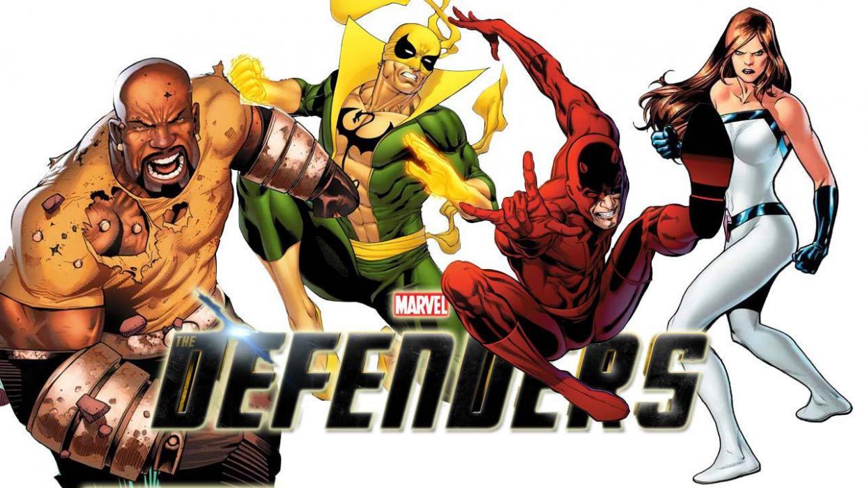 The Defenders en Los vengadores: Infinity war