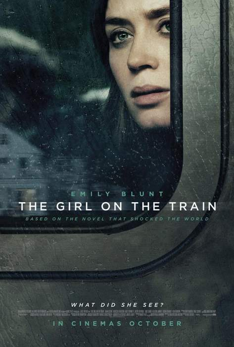 Póster de La chica del tren