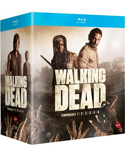 "Pack con las 6 Primeras Temporadas de ""The Walking Dead"""