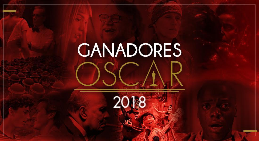 Lista de ganadores de los premios Óscar 2018