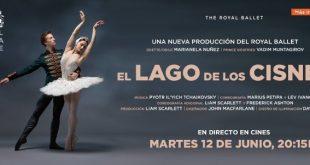 El lago de los cisnes en Yelmo Cines en directo